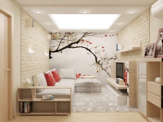 дизайн кухни с камином в частном доме фото