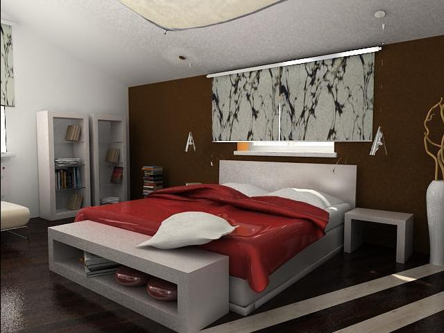Оформление спальни для секса