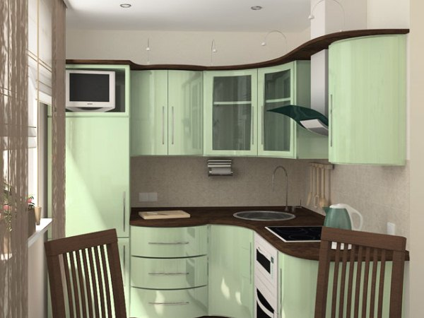 Дизайн кухни 3 кв.м в хрущевке