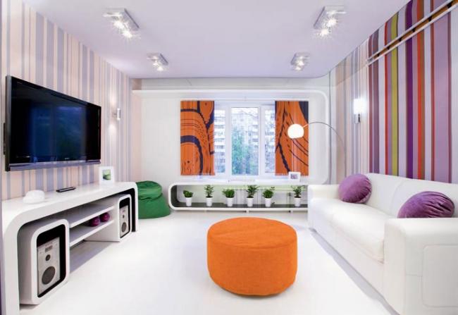 Дизайн комнаты 17 квадратов 4