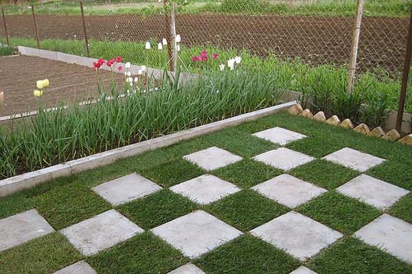 Идеи для газонов своими руками