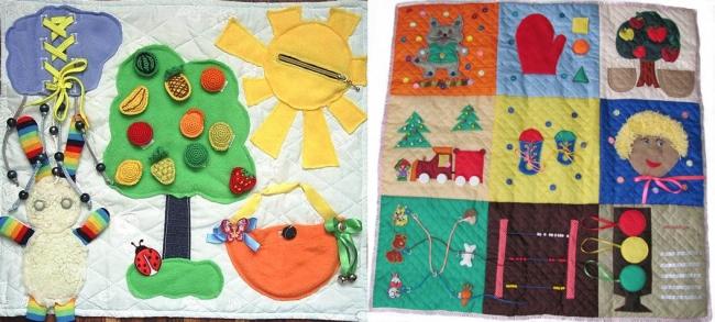 Развивающие игрушки для детей 1-3 лет своими руками 67