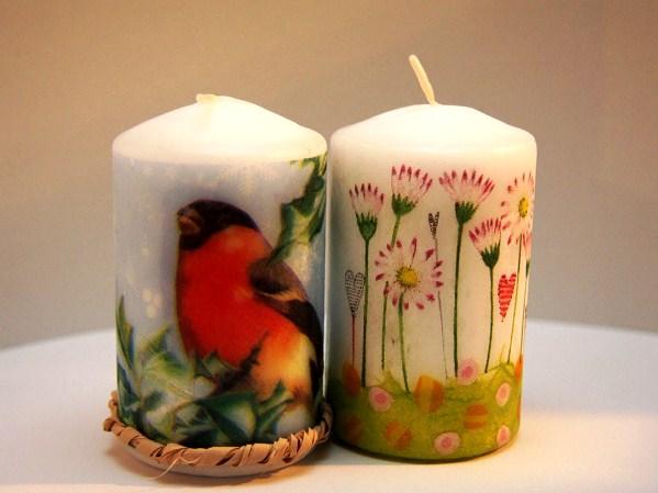Новогодние свечи для детей