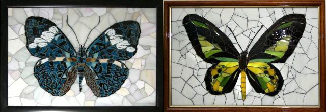 Картины из стекла своими руками