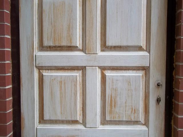 Реставрация двери старой своими руками