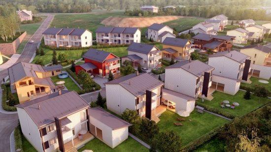 строительство коттеджных поселков в СПБ