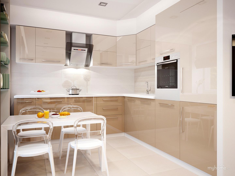 фото кухни светлого цвета