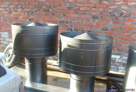 дефлекторы для вентиляции и тяги