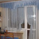 Шторы на кухню с балконом фото